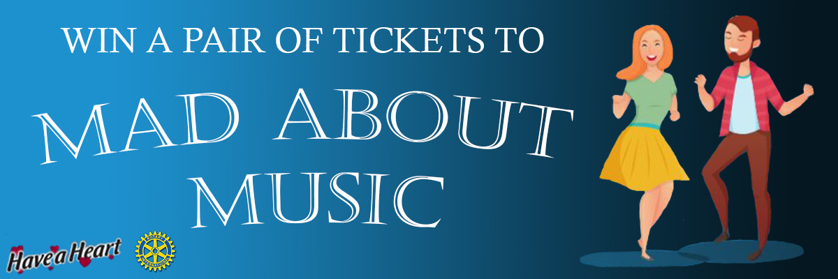 Win Tickets To Mad About Music!