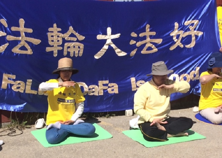 Falun DaFa anniversary celebrated in Grande Prairie