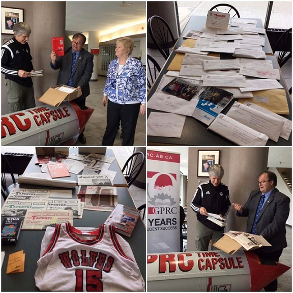 GPRC opens time capsule from 1992
