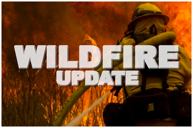 Wildfire hazard moderate in Grande Prairie region