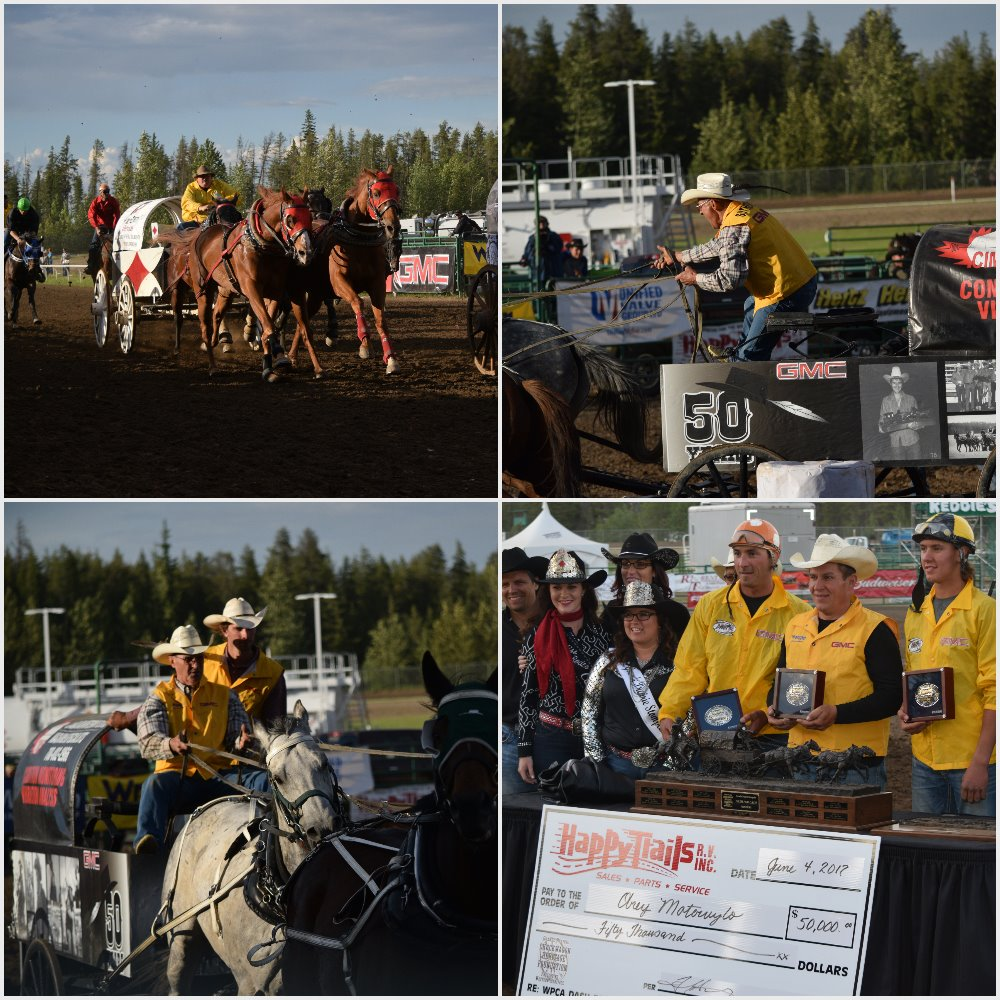 Motowylo, Rever and Desjarlais snag wins at Stompede Dash for Cash
