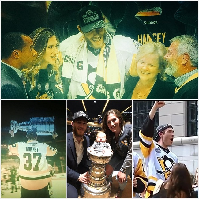 """""""Dream come true"""" for Stanley Cup champ Carter Rowney"""