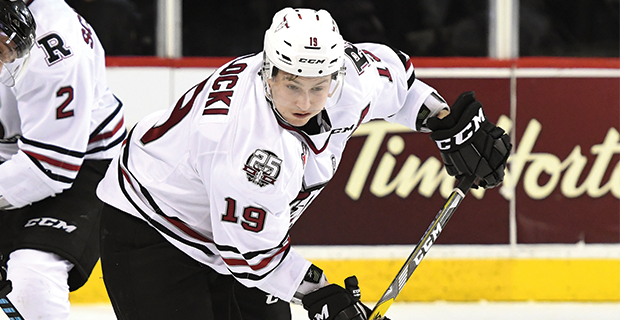 Former Peace hockey product taken in NHL draft
