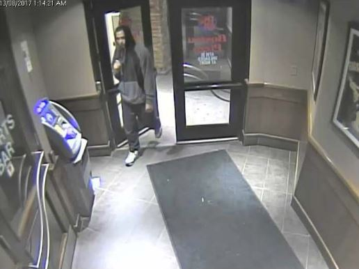 Armed robbery at a local restaurant early Sunday
