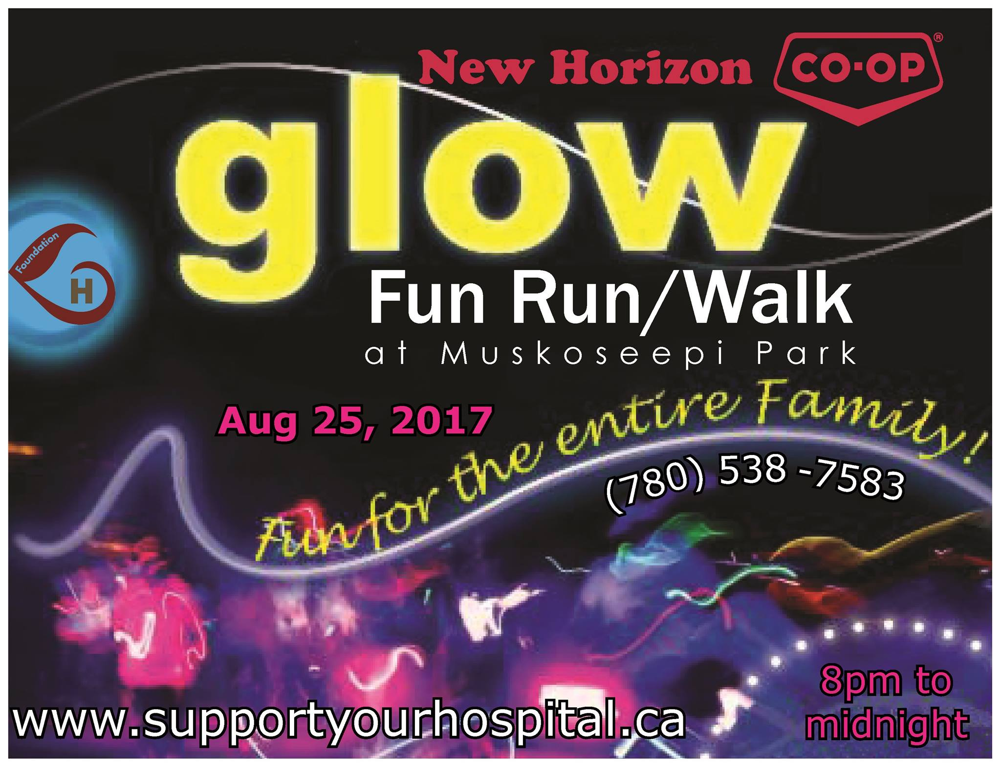 Third Annual Glow Fun Run/Walk takes place August 25