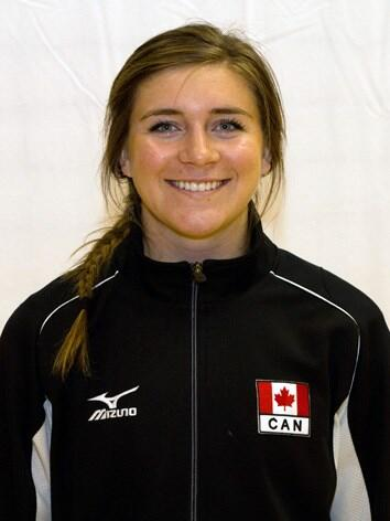 Beaverlodge products with Team Canada at volleyball worlds qualifier
