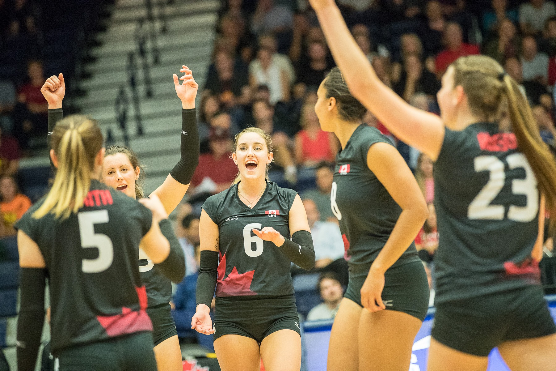 Smith, Canada's volleyball team win opener at worlds qualifier
