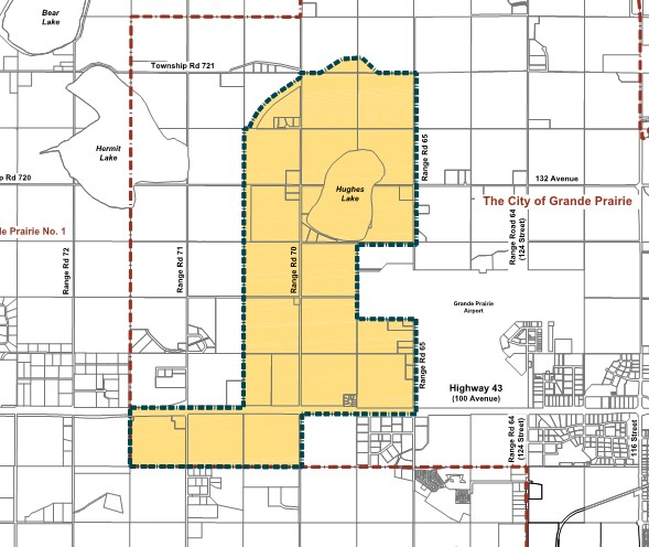 Open house being held for development area near airport