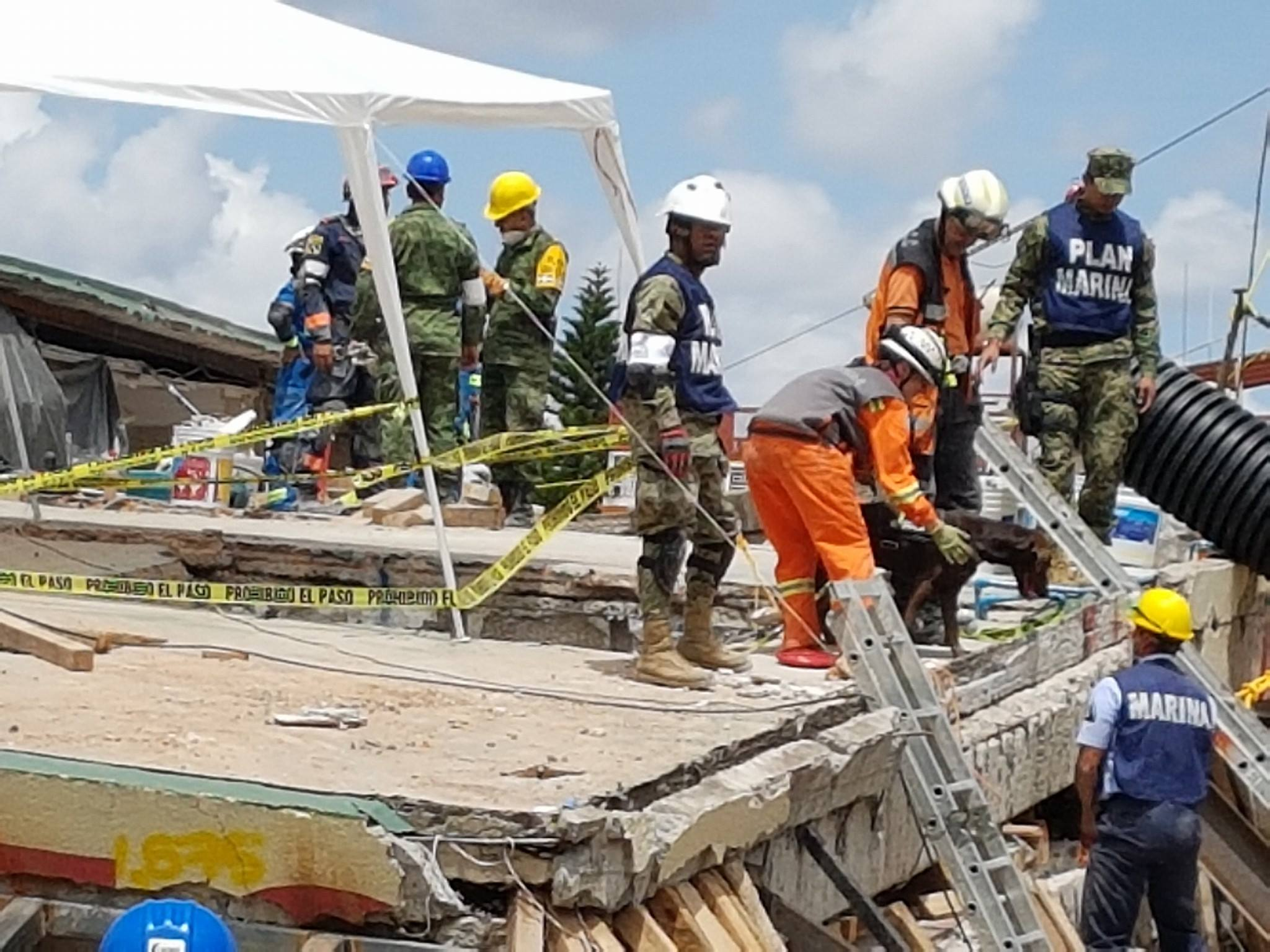 Former Grande Prairie resident helping with earthquake rescue efforts in Mexico