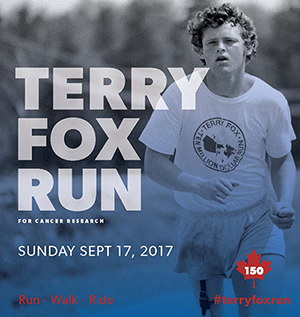 Terry Fox Run set for Sunday