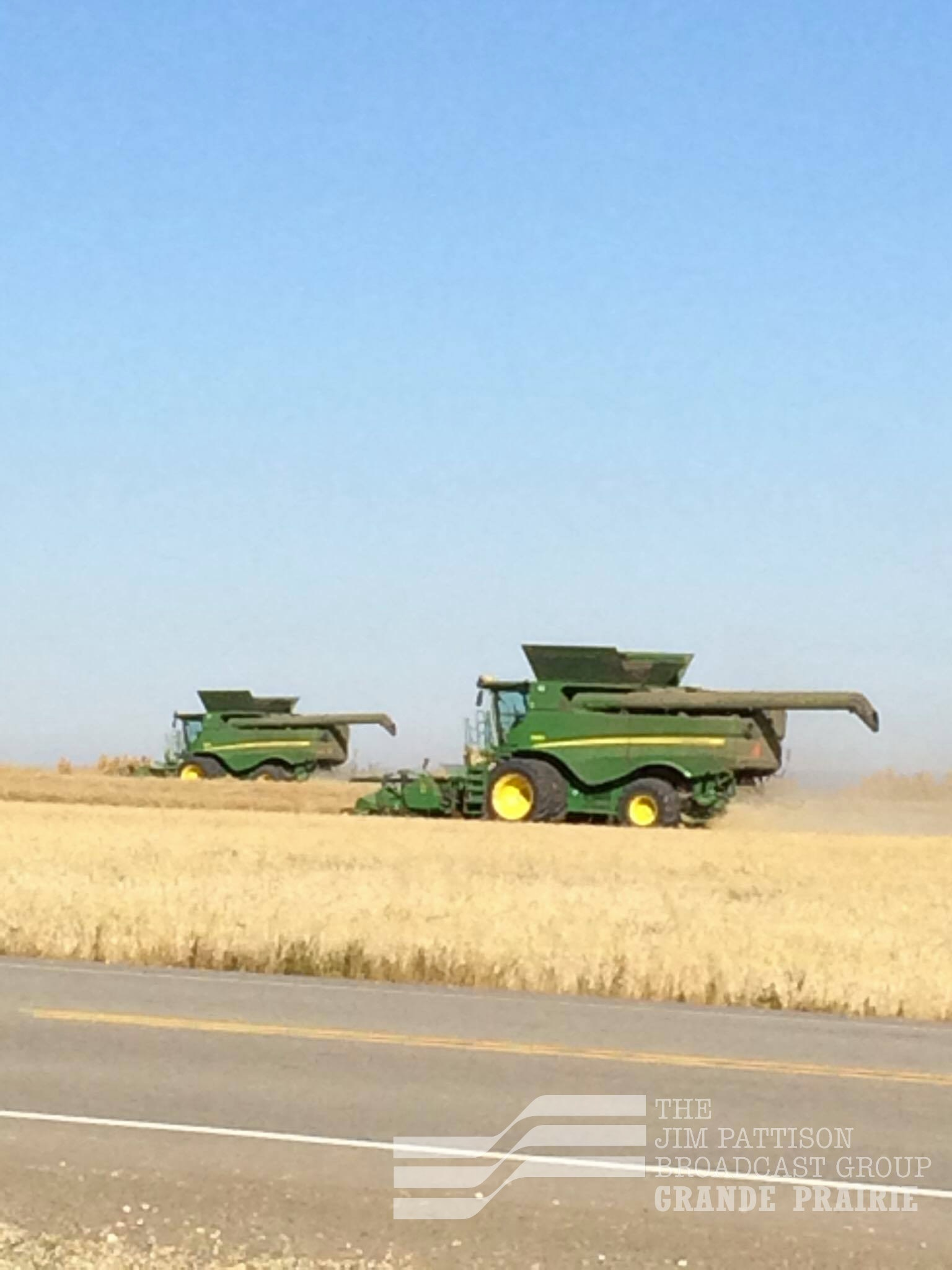 Alberta Agriculture says harvest progress behind five year average