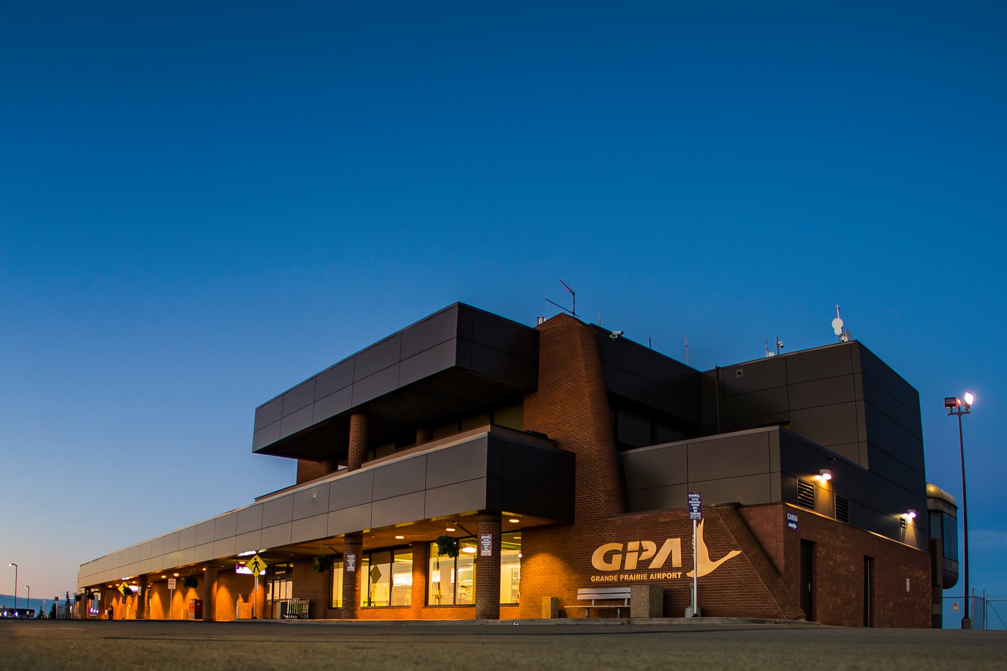 Increased wait times at Grande Prairie Airport