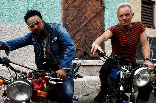 Sting and Shaggy Explain Their Collaboration