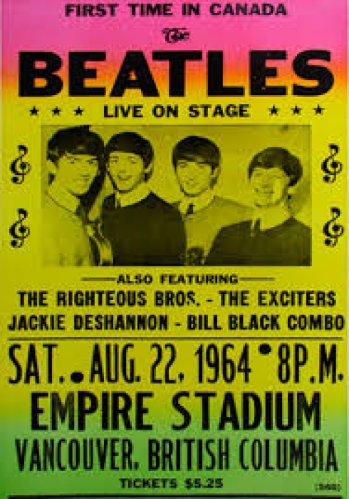 54 Years Ago The Beatles Play Empire Stadium