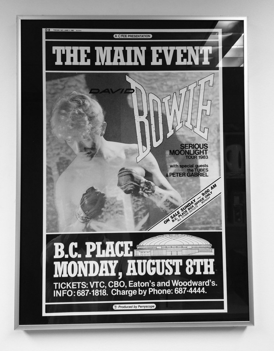 35 Years Ago Bowie Sells Out B.C. Place--Not Once But Twice!
