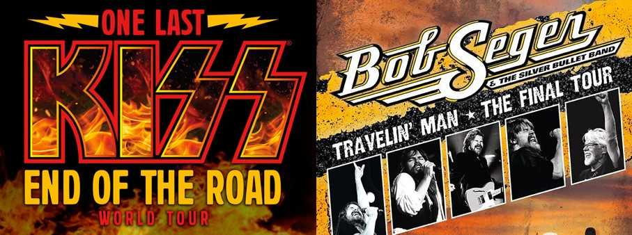 Bob Seger & Kiss Announce Farewell Tours