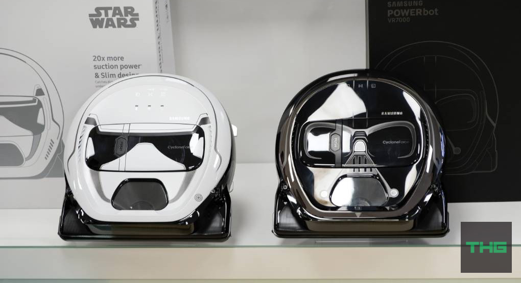 The force is strong with this robotic vacuum