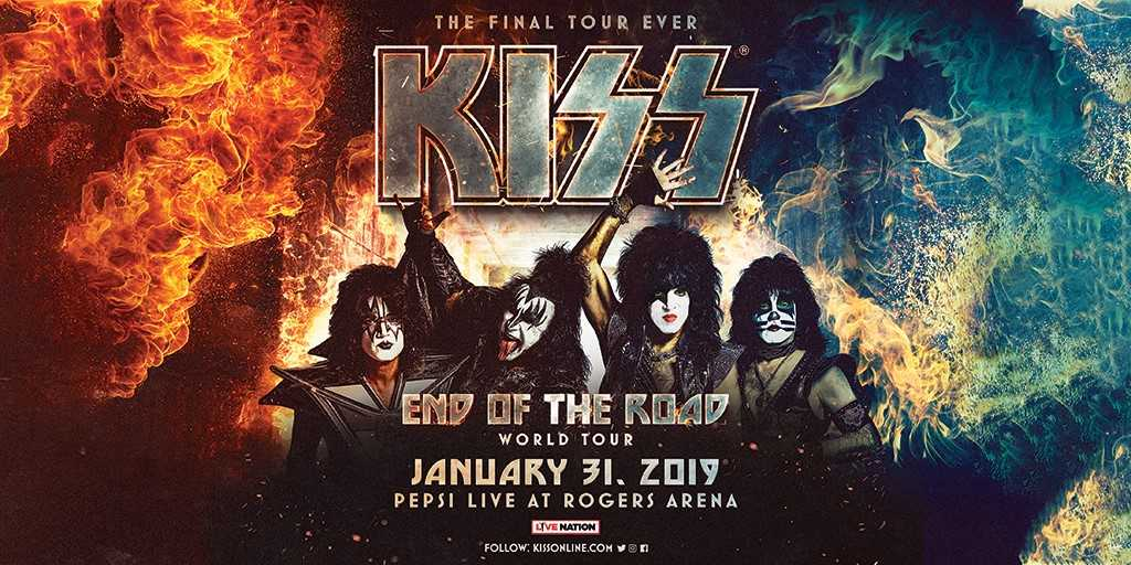 KISS End Of The Road World Tour - Vancouver