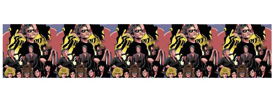 Guns N' Roses & Bon Jovi Comic Books