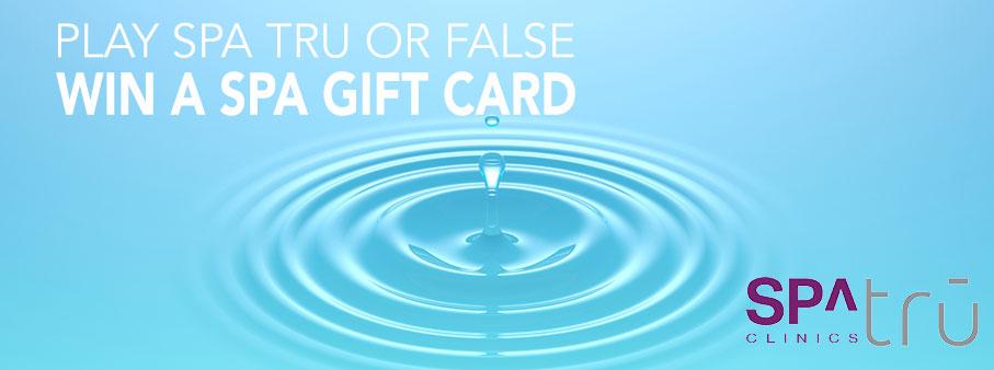 Win a $100 Gift Card to Spa Tru