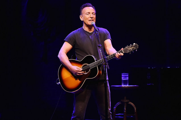 """Springsteen on Broadway"" on Netflix This Weekend."