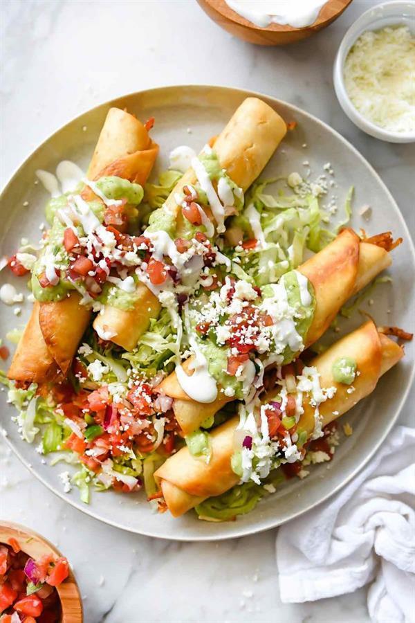 Taco Tuesday - Taco Enchiladas?! Taquitos?