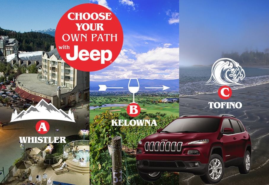 Jeep Choose Your Own Path