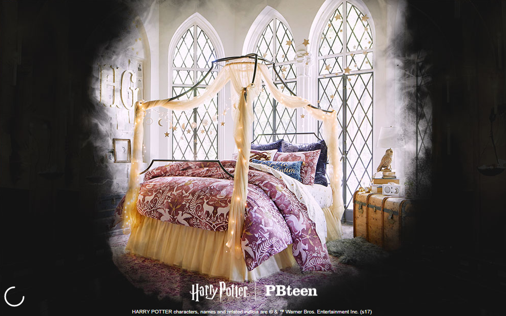 Pottery Barn Launches Harry Potter Home Decor Collection Business Insider There Have Been Many House Scarves On The Market But You Know This One From