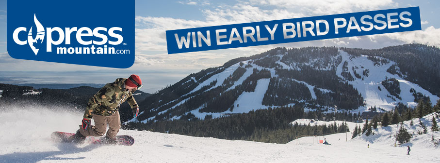 Win Early Bird Passes to Cypress Mountain