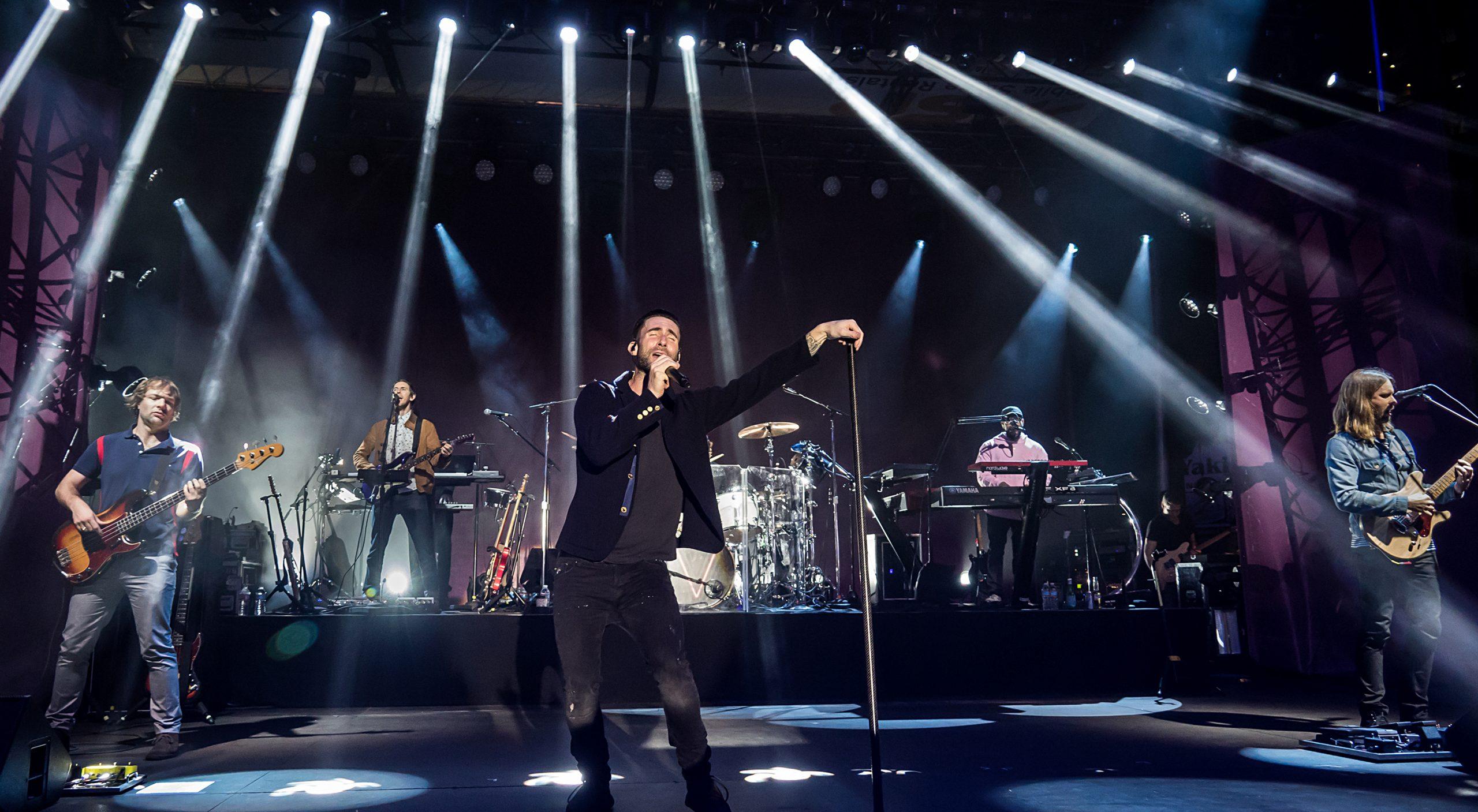 WATCH: Maroon 5 Covers Bob Marley