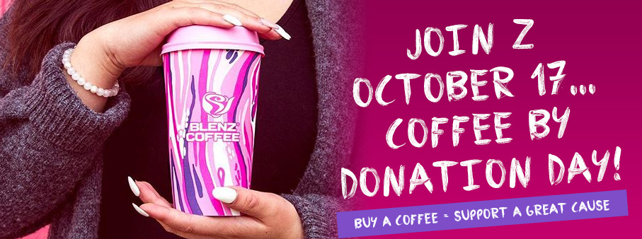 Z & Blenz – Coffee By Donation Day