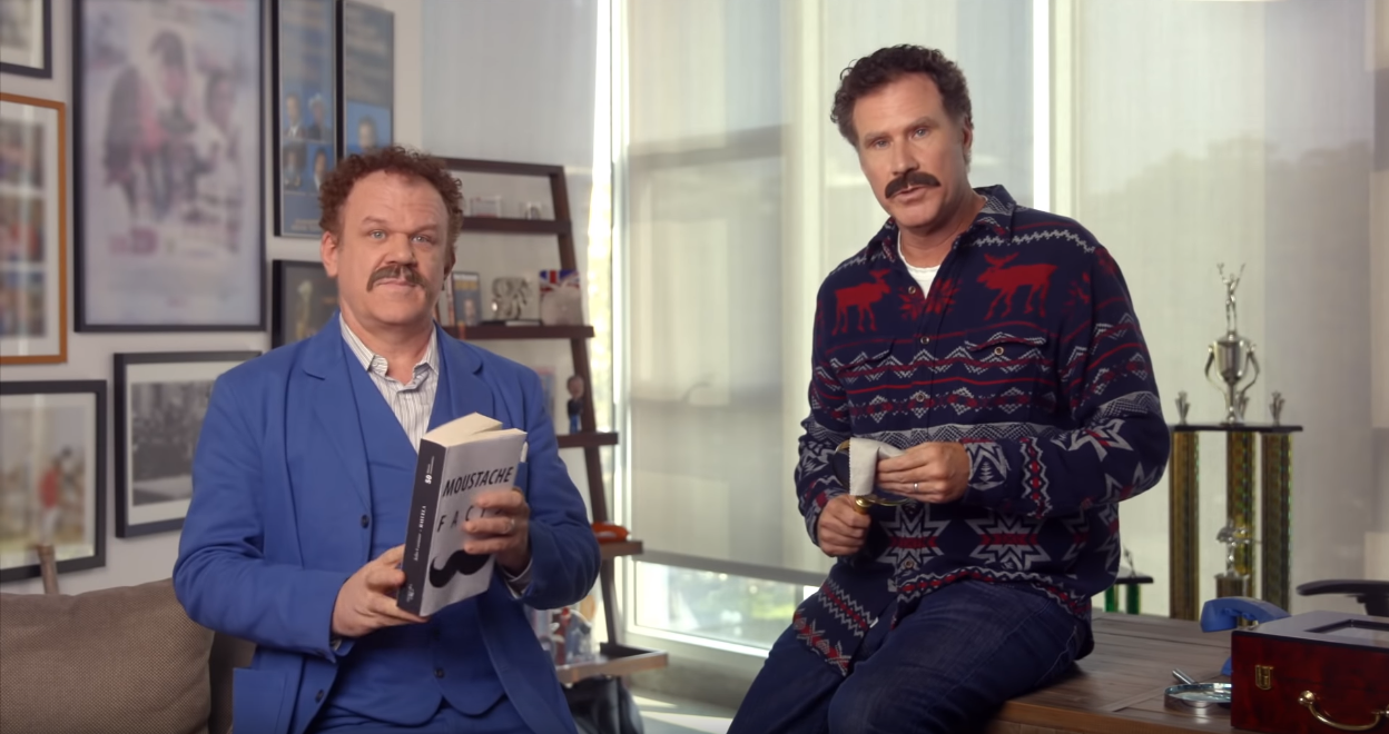 WATCH: Will Ferrell and John C Reilly star in Movember PSA