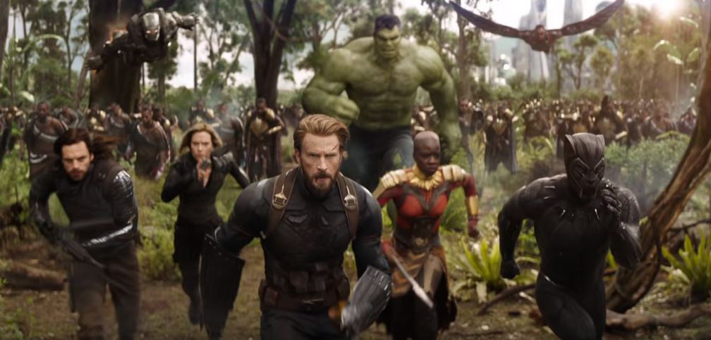 Here are the top grossing movies of 2018