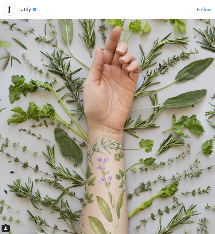 SCENTED TATTOOS ARE NOW A THING...