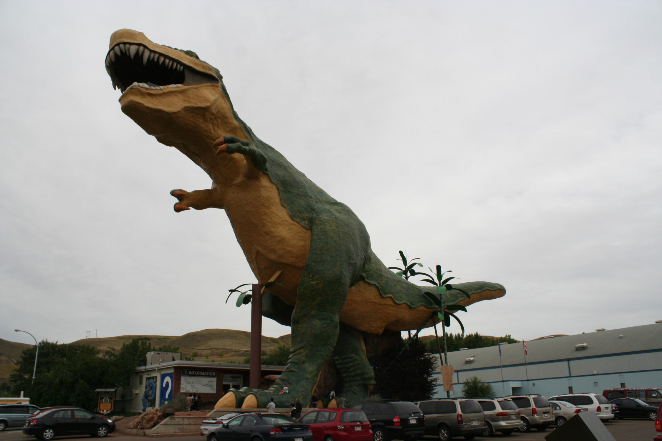 BIG NUMBERS TURN OUT AT THE ROYAL TYRRELL MUSEUM LAST WEEKEND