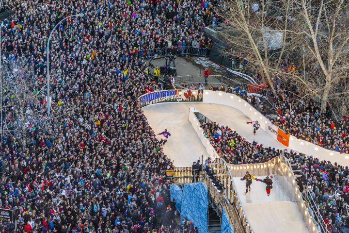 RED BULL CRASHED ICE COMING BACK TO EDMONTON