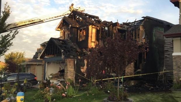 BABY DIES, MOTHER CRITICAL--FOLLOWING HOUSE FIRE IN SW EDMONTON