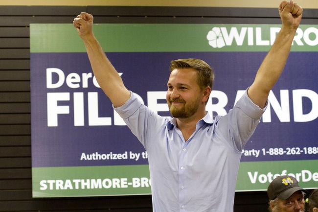 DEREK FILDEBRANDT SAYS HE'S NOT GOING TO RUN FOR THE UCP LEADERSHIP