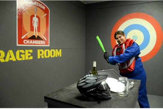 GOT FRUSTRATIONS?  CHECK OUT CALGARY'S RAGE ROOM!