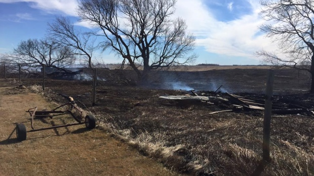 RANCHERS FORCED TO PUT DOWN BADLY BURNED CATTLE---AND POINTING THEIR FINGERS AT CFB-SUFFIELD
