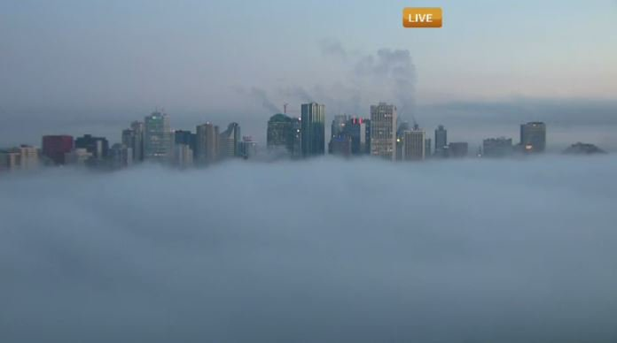 FOG ADVISORY IN PLACE FOR THE CAPITAL REGION