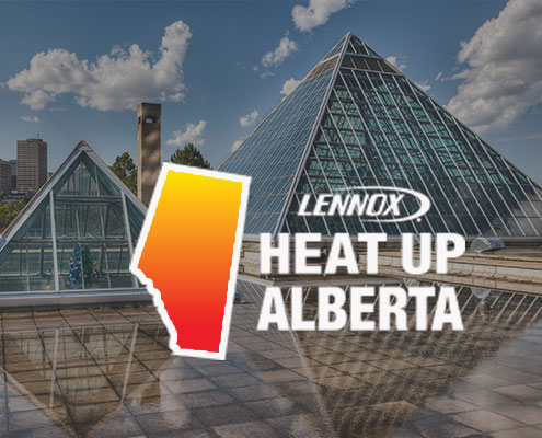 NEW EDMONTON FAMILY TO BENEFIT FROM THE HEAT UP ALBERTA PROGRAM