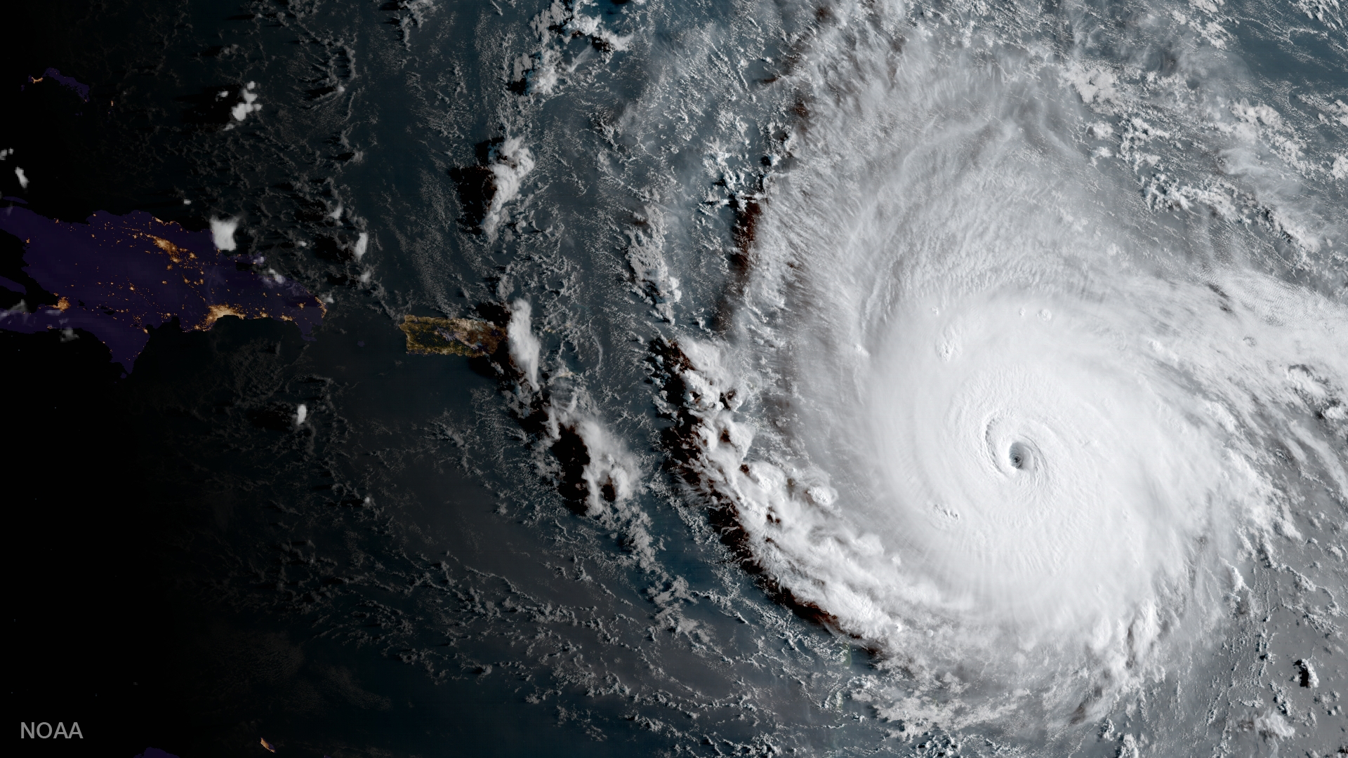 IRMA NOW THE MOST POWERFUL HURRICANE IN RECORDED HISTORY