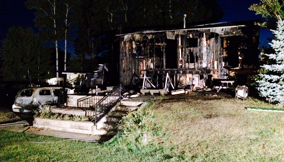 DEADLY HOUSE FIRE IN STRATHCONA COUNTY