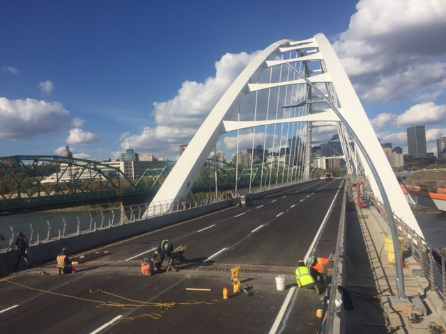 WALTERDALE BRIDGE IS OPEN!!!   (MOSTLY)