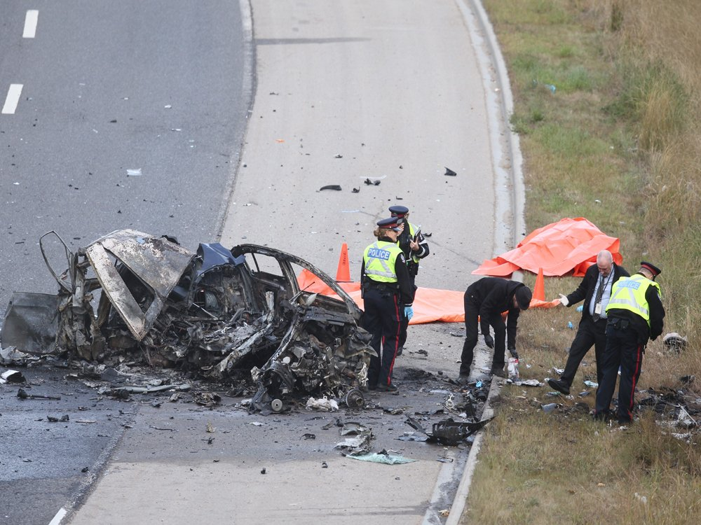 DEADLY COLLISION ON THE WHITEMUD