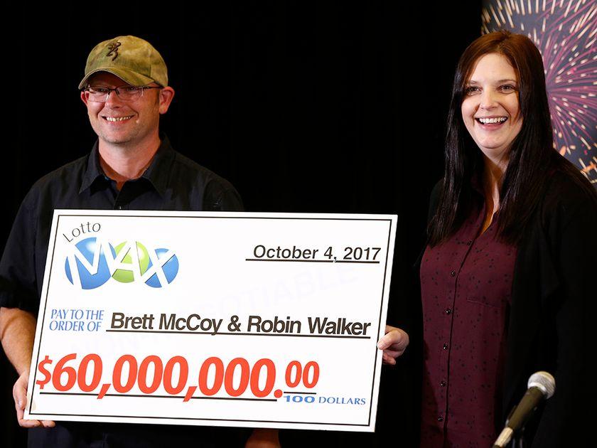 MEET THE WINNERS OF THE 60-MILLION DOLLAR LOTTO MAX JACKPOT