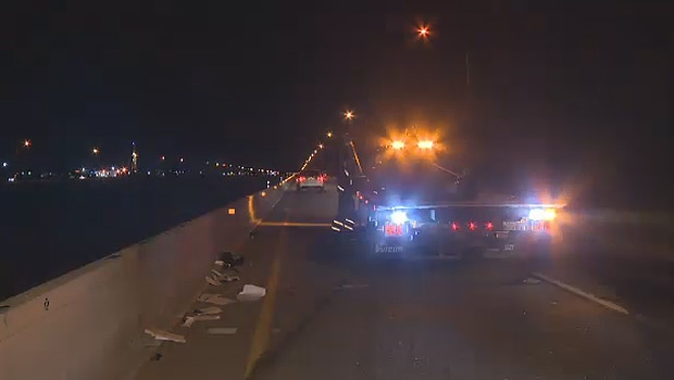 ONE MAN DEAD FOLLOWING CRASH ON THE QE-2 JUST SOUTH OF EDMONTON