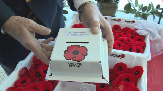 COCHRANE MAN MAY HAVE THE ANSWER AGAINST  POPPY DONATION BOX THIEVES