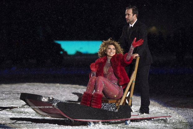 ARGOS WIN THE GREY CUP AND SHANIA SHOWS UP ON A DOGSLED